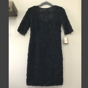 RACHEL Rachel Roy Lace Rosette Dress
